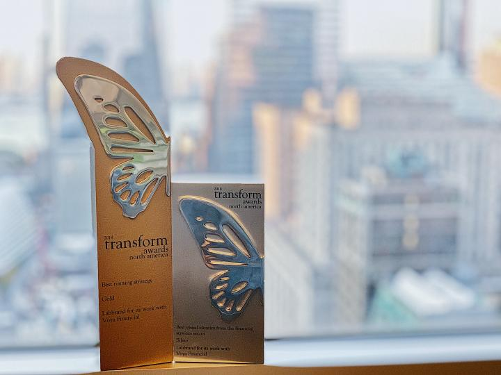 Labbrand Wins Two Awards at Transform Awards North America 2018