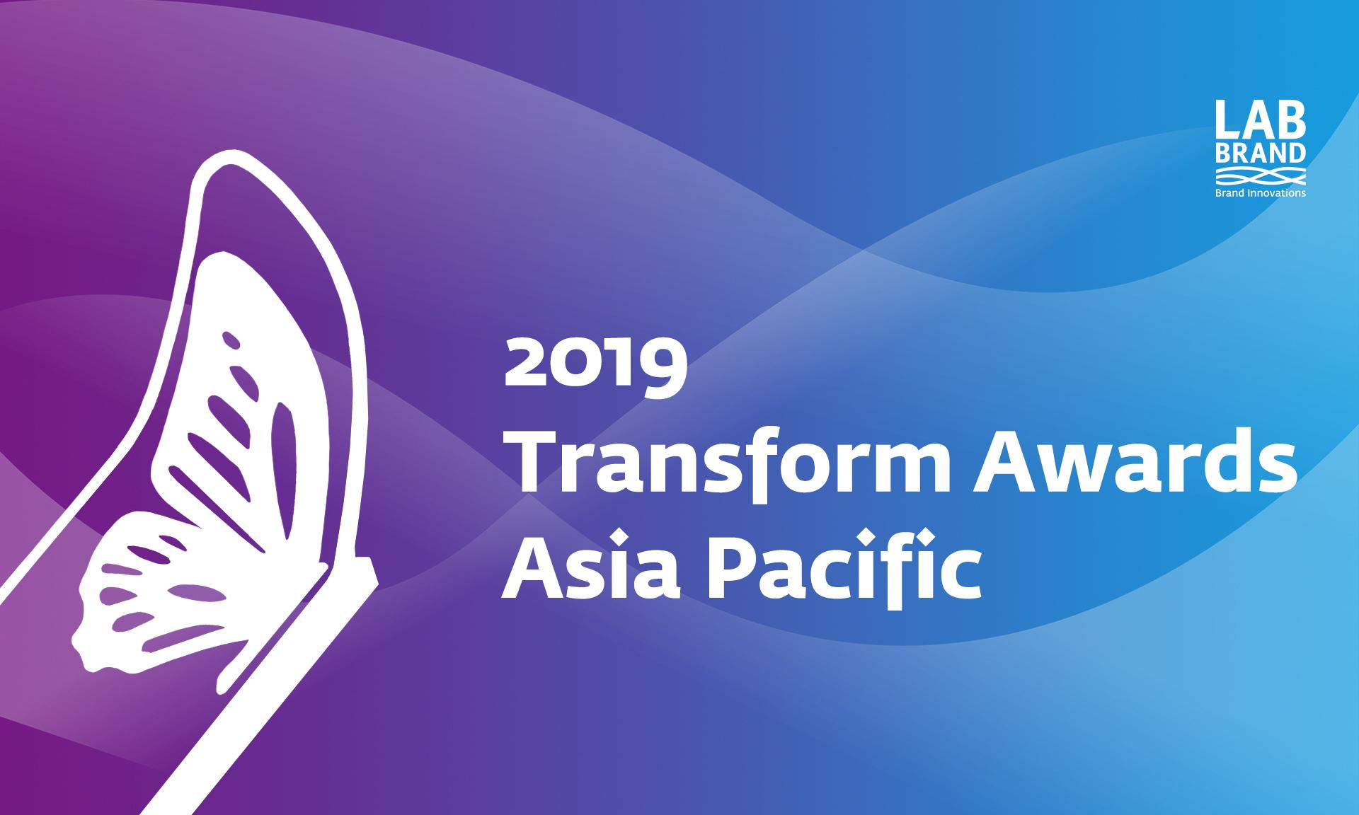 Labbrand Wins at the Transform Awards Asia Pacific